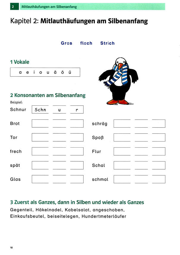 Großartig Konsonant Und Vokal Arbeitsblatt Für Kindergärten ...